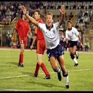 On this day 30 years ago, David Platt's over-the-shoulder volley from Paul Gascoigne's floating free kick in the 119th minute sent England past Belgium and into the World Cup quarter-finals.