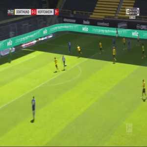 Borussia Dortmund 0-2 Hoffenheim - Andrej Kramarić 30'