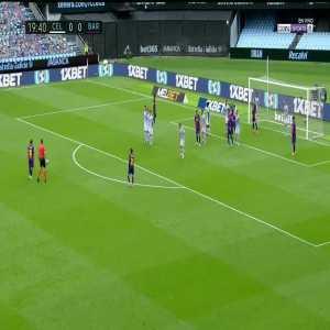 Celta Vigo 0-1 Barcelona: Luis Suarez goal 20'