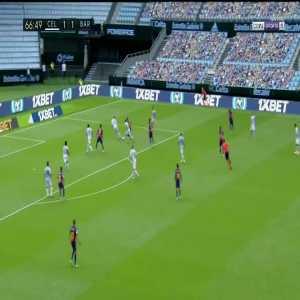 Celta Vigo 1-[2] Barcelona: Luis Suarez goal 67'