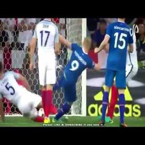 Four years ago today, Iceland 2 - 1 England, Euros 2016