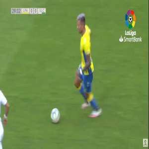 Las Palmas 1-0 Elche - Ruben Castro 30'