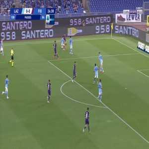 Lazio 0-1 Fiorentina - Franck Ribery 25'