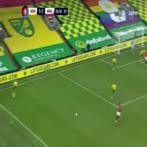 Norwich City 1-[2] Manchester United [FA Cup]: Harry Maguire goal ET 28'