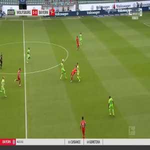Wolfsburg 0-1 Bayern München - Kingsley Coman 4'