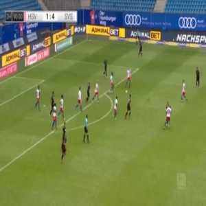 Hamburger SV 1-[5] Sandhausen - Dennis Diekmeier 90'+3'