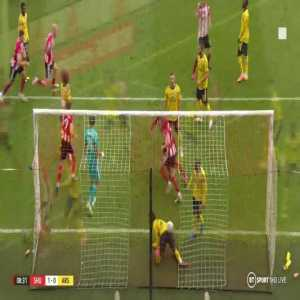 John Lundstram disallowed Goal - Sheffield United vs Arsenal