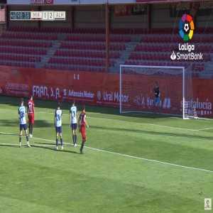 Mirandes [2]-2 Almeria - Martin Merquelanz Castellanos penalty 90'+9'