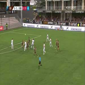 Mjøndalen [1]-2 Kristiansund - Shuaibu Ibrahim 90+2'