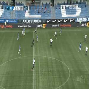 Molde 3-0 Stabæk - Leke James 59'