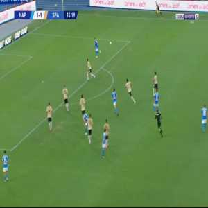 Napoli [2]-1 Spal - Jose Callejon 36'