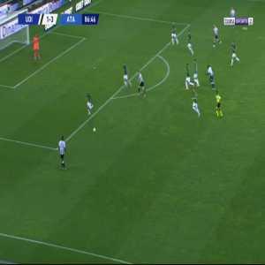 Udinese [2]-3 Atalanta - Kevin Lasagna 87'
