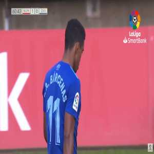 Yoel Barcenas (Real Oviedo) straight red card against Numancia 61'