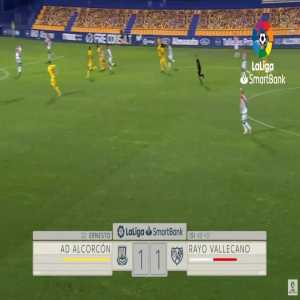 Alcorcon [2]-1 Rayo Vallecano - Gomez Munoz Ernesto 46'