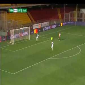 Benevento 1-0 Juve Stabia - Marco Sau 71'
