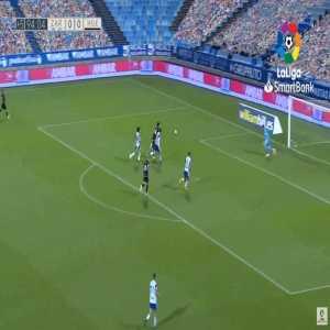 Real Zaragoza 0-1 Huesca - Javier Galan 90'+5'