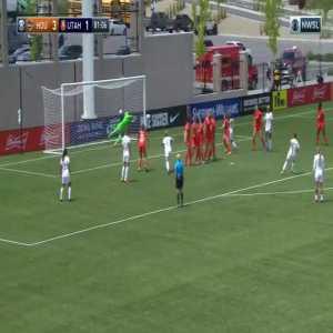 Houston Dash 3-[2] Utah Royals FC - Vero Boquete freekick goal