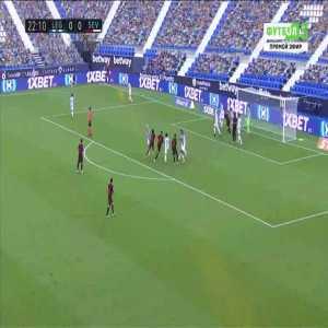 Leganes 0-1 Sevilla - Oliver Torres 23'