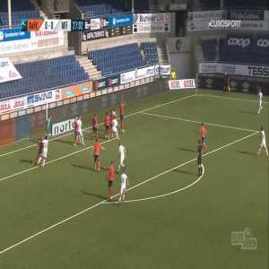 Aalesund 0-1 Mjøndalen - Shuaibu Ibrahim 28'