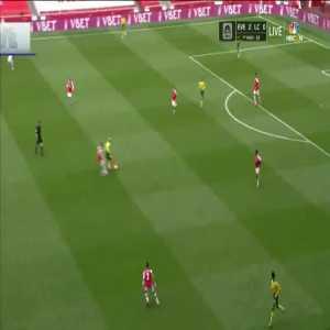 Arsenal 1-0 Norwich City: Pierre-Emerick Aubameyang goal 33'