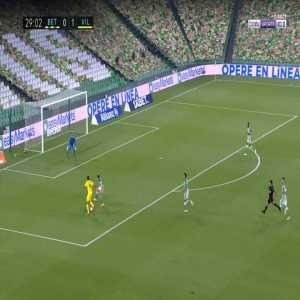 Betis 0-2 Villarreal - Gerard Moreno 30'
