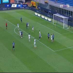 Inter [3] - 0 Brescia - D'Ambrosio 45'