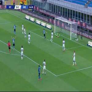 Internazionale 1-0 Brescia: Ashley Young goal 5'