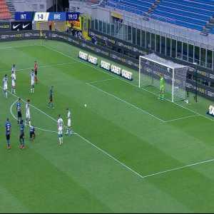 Internazionale 2-0 Brescia: Alexis Sanchez penalty goal 20'