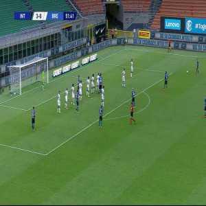 Internazionale 4-0 Brescia: R. Gagliardini goal 52'