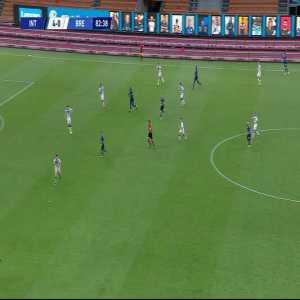 Internazionale 5-0 Brescia: Christian Eriksen goal 83'