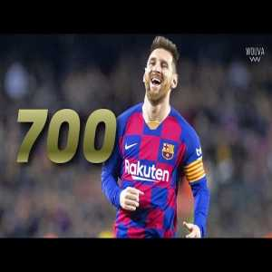 Lionel Messi: All 700 career goals