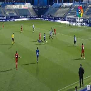 Ponferradina 0-1 Fuenlabrada - Jeisson Martínez 57'