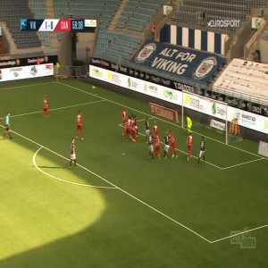 Viking 2-0 Sandefjord - Veton Berisha 60'