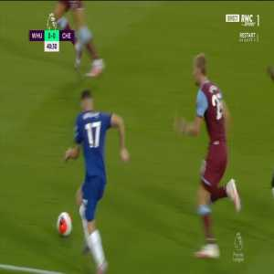 West Ham 0 - [1] Chelsea - Willian (Penalty + Call) 42'