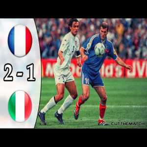 20 years ago today, France crowned themselves European Champions against Italy despite trailing 0-1 at the 93th minute