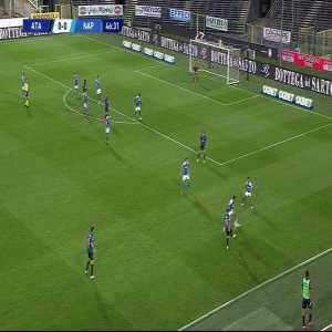 Atlanta 1-0 Napoli: Mario Pasalic goal 46'