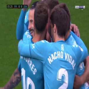Eibar 0-1 Osasuna - Ruben Garcia free-kick 6'