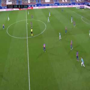Eibar 0-2 Osasuna - Ruben Garcia 74'