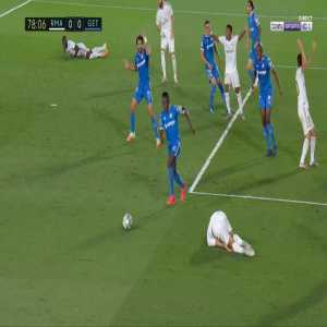 Real Madrid 1-0 Getafe - Sergio Ramos penalty 79'