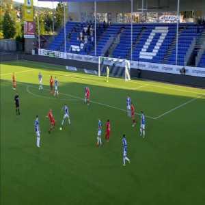 Sarpsborg 08 0-1 Brann - Gilbert Koomson 43'