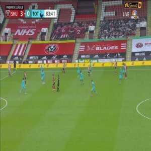Sheffield 3-0 Tottenham: Oliver McBurnie Goal