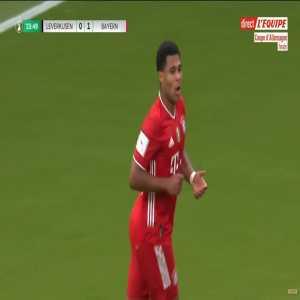 Bayer Leverkusen 0 - [2] Bayern Munchen - Serge Gnabry 24'