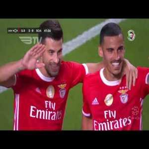 Benfica [3]-0 Boavista - Gabriel 42'