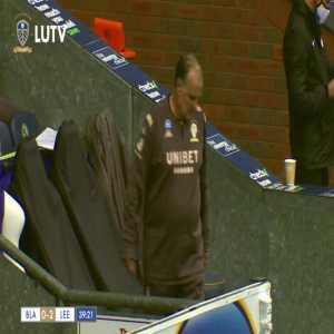 Blackburn Rovers 0-2 Leeds United: Kalvin Phillips FK 40'