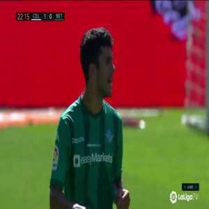 Celta Vigo 1 - 0 Real Betis - Nolito free-kick