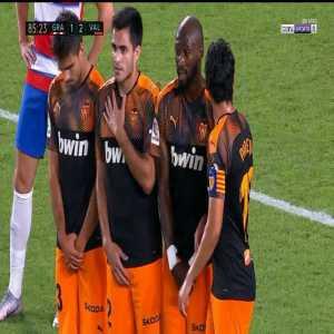 Granada [2]-2 Valencia: Fede Vico free kick goal 86'