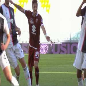 Juventus 2-[1] Torino: Andrea Belotti penalty goal 45+6'
