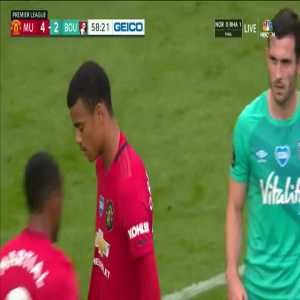Manchester United [5]-2 Bournemouth: Bruno Fernandes free kick goal 59'