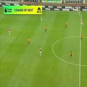 Wolverhampton Wanderers 0-1 Arsenal: B. Saka goal 43'