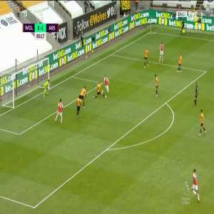 Wolves 0 - [2] Arsenal - Lacazette 86'